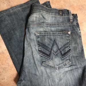 "7 for All Mankind ""A"" pkt bootcut Jeans"